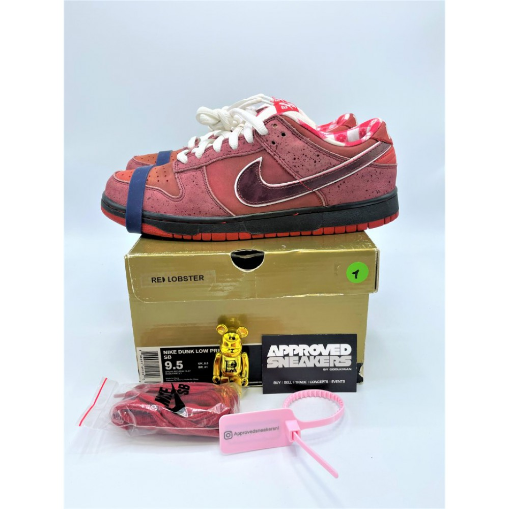 Nike Dunk SB Low Red Lobster 313170-661