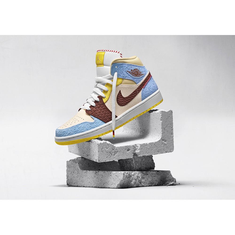 Nike Air Jordan 1 Mid SE Fearless Maison Chateau Rouge CU2803-200