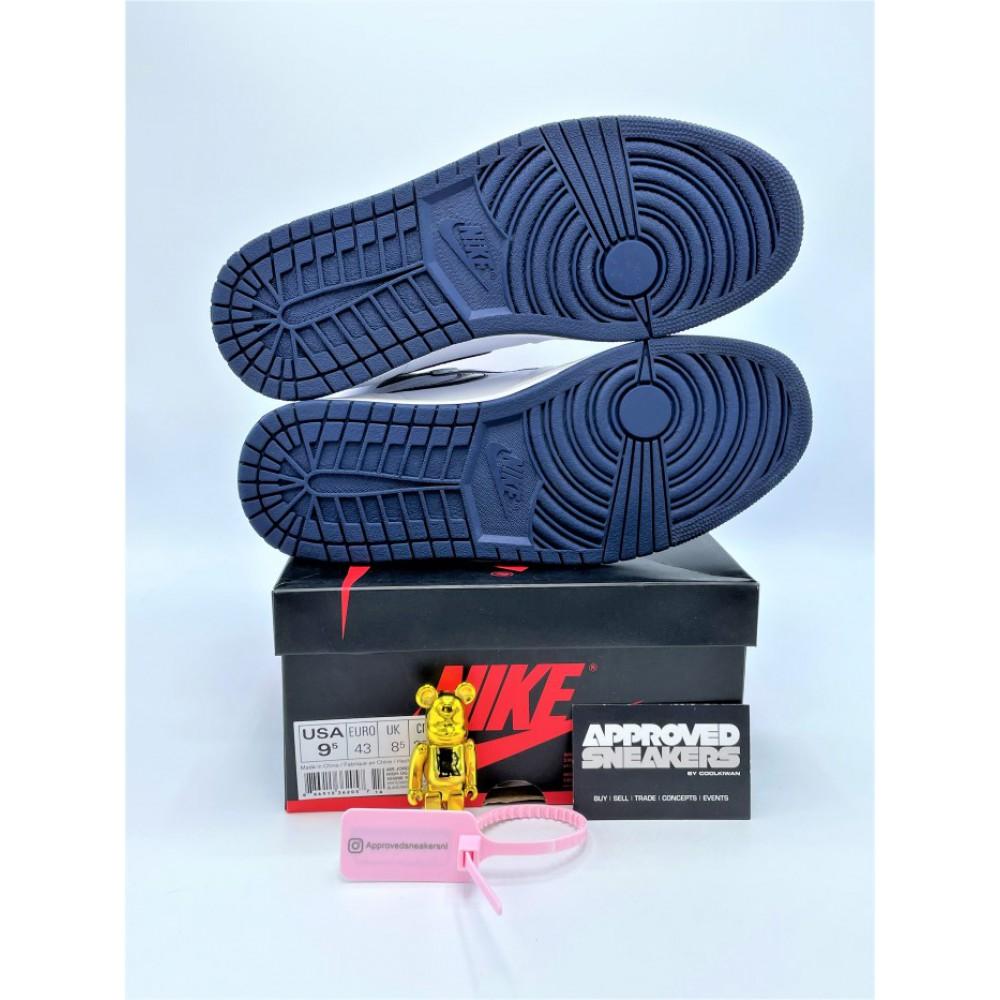 Nike Air Jordan 1 Retro Metallic Navy (2016) 555088-106