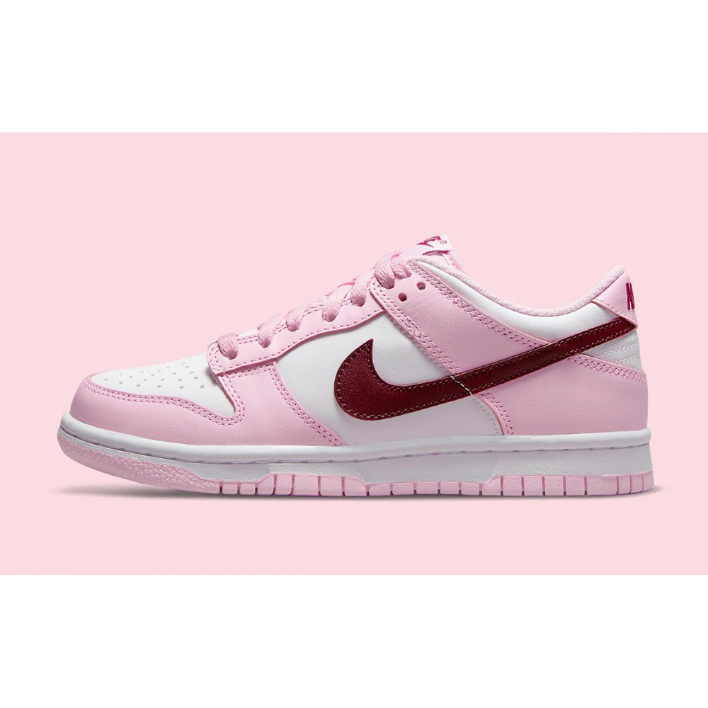 Nike Dunk Low Pink Red White (PS) CW1588-601