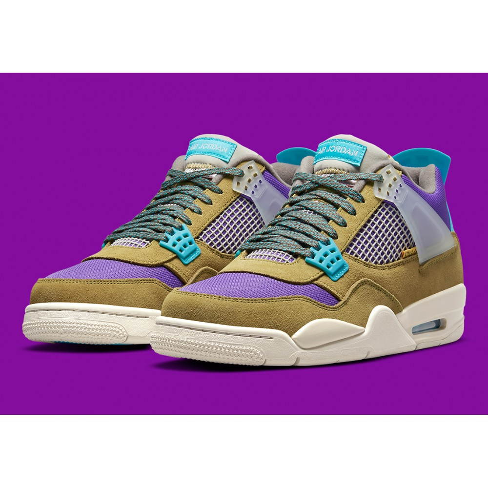 Nike Air Jordan 4 Retro SP 30th Anniversary Union Desert Moss DJ5718-300