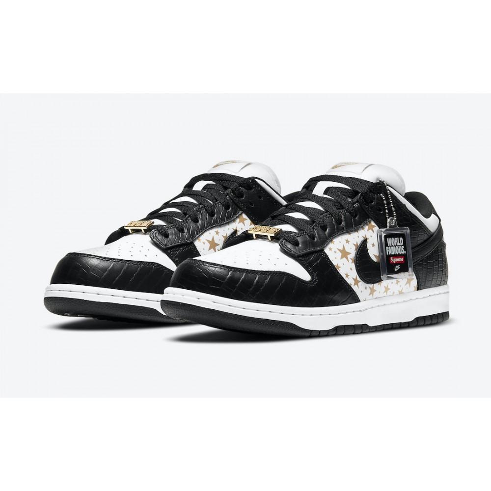 Nike Dunk SB Low Supreme Stars Black DH3228-102