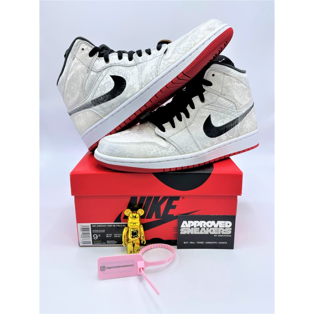 Nike Air Jordan 1 Mid SE Fearless Edison Chen CLOT CU2804-100