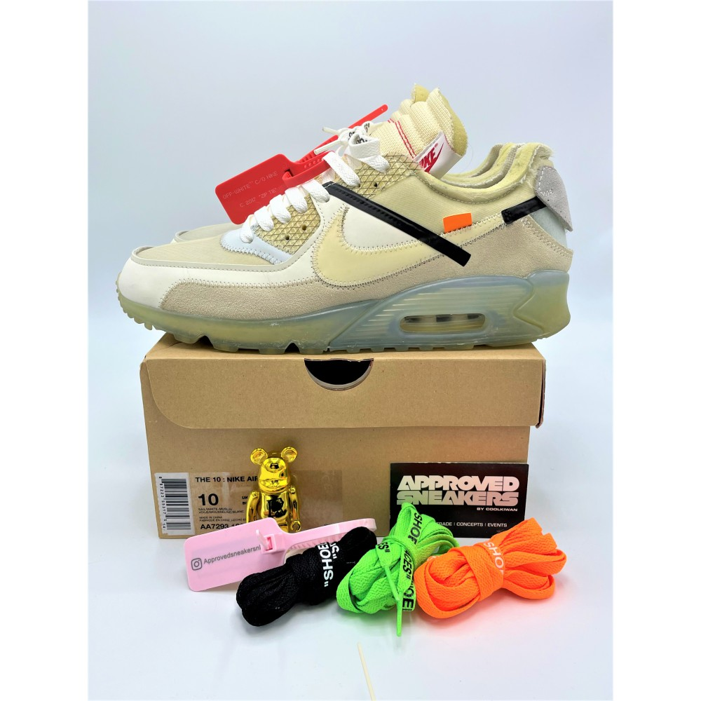 The 10: Nike Air Max 90 OFF-WHITE AA7293-100