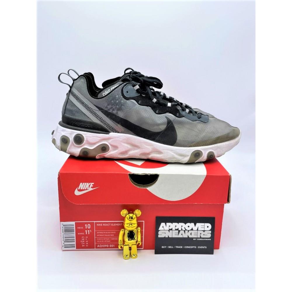 Nike React Element 87 Black AQ1090 001