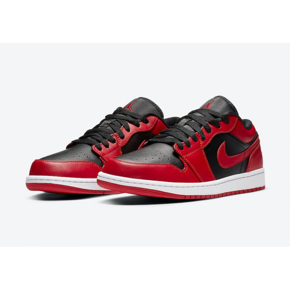 Nike Air Jordan 1 Low Reverse Bred 553558-606