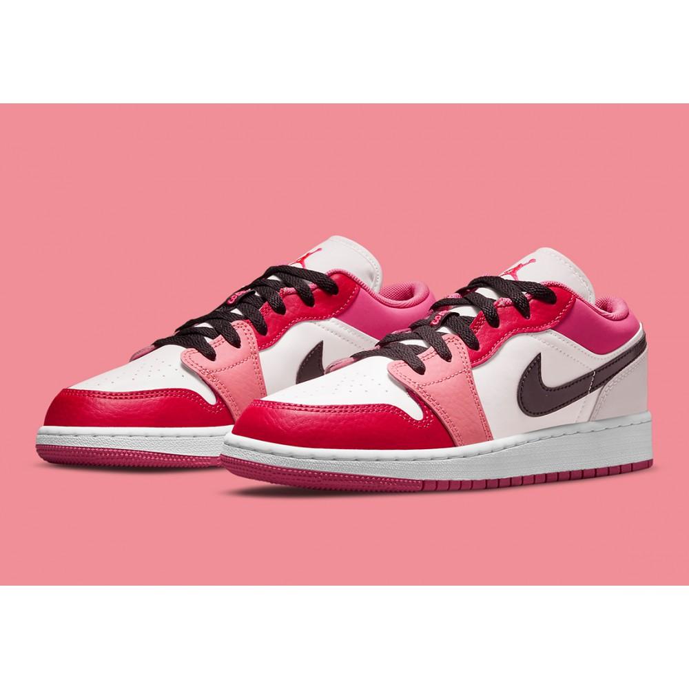 Nike Air Jordan 1 Low Pink Red (GS) 553560-162