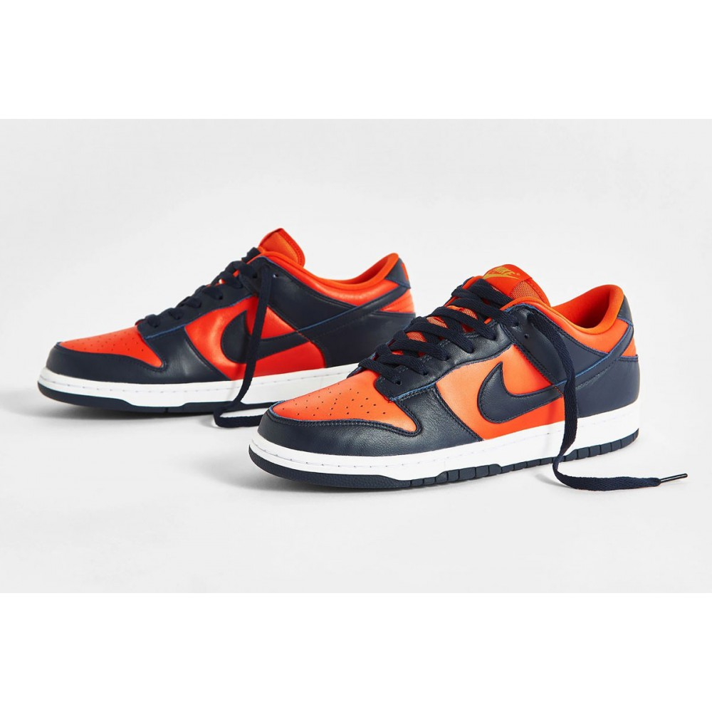 Nike Dunk Low SP Champ Colors University Orange Marine CU1727-800